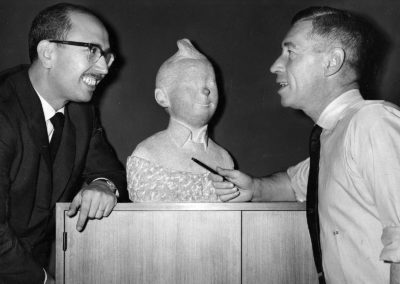 With Hergé (1962)